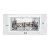 RTD-16A 25L gabinetes de calefacción de toallas eléctricas calentador de toallas de Hotel salón de belleza dedicado desinfección de manos 220 v (50 hz) 1 pc