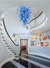 лучшая цена Free Shipping Hotel Design Murano Glass Art Chandelier Moroccan Ceiling Lamp