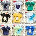 2016 Verão Novas Crianças Mais estilo T Camisas Meninos Crianças T-Shirt Roupas Para Adolescentes Para Meninos Das Meninas da Roupa Do Bebê Meninas Camisetas