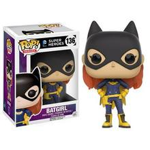 Funko pop DC Super-heróis Batman-Batgirl oficial 2016 Vinyl Action Figure Collectible Modelo Toy com caixa Original(China)