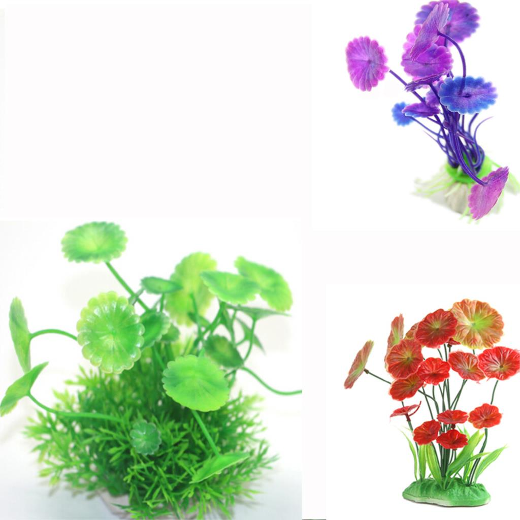Simulation aquarium ornament landscape grass artificial for Artificial plants for decoration