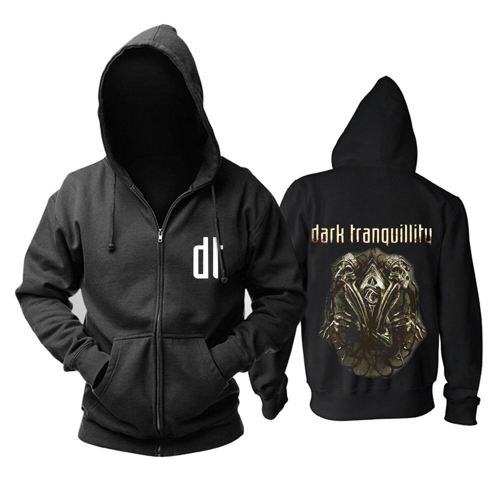 18 видов молнии темное спокойствие группа рок толстовки куртка с черепом 3D брендовая рубашка панк смерти темный свитер в стиле хеви-метал XXXL - Цвет: 16