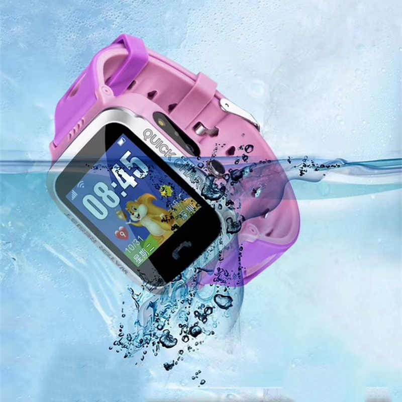G10A IP67 Kids Safe Anti-Lost Monitor Watch Waterproof Children GPS M06 Swimming Smart Watch SOS Call Location Device Tracker