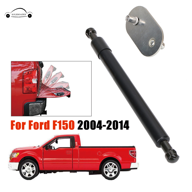 Tailgate Assist Shock Buffer Down Slow Drop Rate Telescopic Rod For Ford <font><b>F150</b></font> 2004-2014 Truck Tailgate Assist Lift KOLEROADER // image