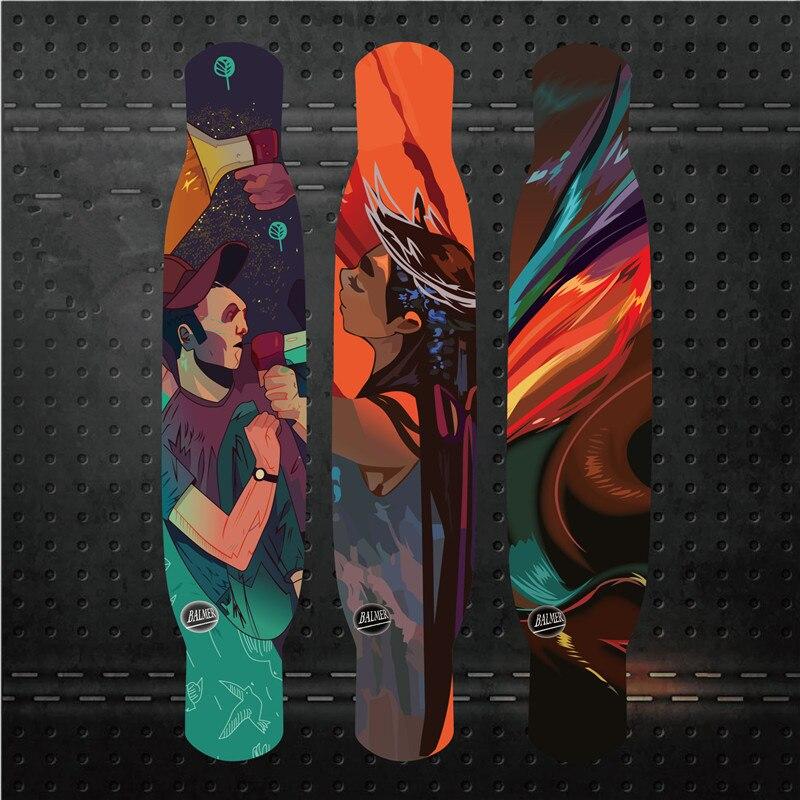 Adult Road Street Dancing Complete Professional Maple Skateboard Longboard Skate Board Longboard Dancing Board