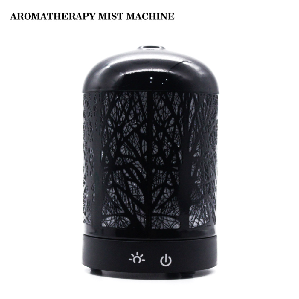 Ultrasonic Aromatherapy Machine USB Essential Oil Diffuser Air Purifier 6 color Cycle LED Light Atomizing Humidifier