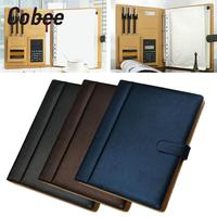Cobee A4 with Computer Briefcase Cover Storage Bag File Folder Business Fashion Stationery Large Capacity Paper Folder