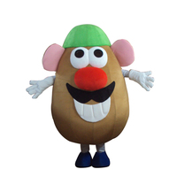 Adult Mr. Potato Head Mascot Costume Toy Story Adult Fancy Dress Cartoon carnival Outfits for birthday Halloween parties