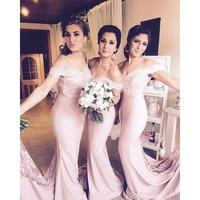 Robe Demoiselle d'honneur 2016 Mermaid Lace Bridesmaid Dresses Elegant Bridesmaid Dress Vestido de Festa de Casamento