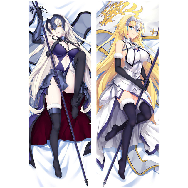 wow amellor anime fate stay night d coratif oreiller belle sabre taie d 39 oreiller 3d double. Black Bedroom Furniture Sets. Home Design Ideas