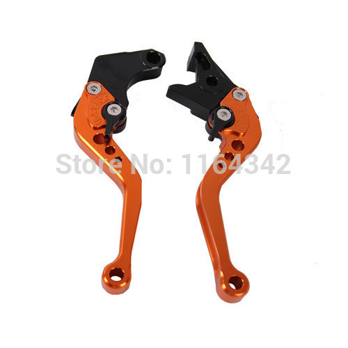 Orange CNC Aluminum Motorcycle Brake Clutch Levers Set For Honda CBR250 VT250 Hornet250 Jade250 CB400 VTEC(No 99-01) CBR400 CB-1