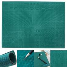 A2 PVC Cutting Mat Cutting Pad Patchwork Double Printed Self Healing Cutting Mat Craft Quilting Scrapbooking Board 45X60CM 3mm(China)
