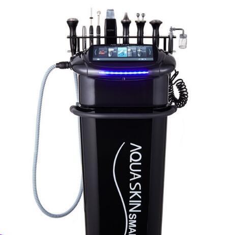 Korean Black Beaut Aqua Skin 8 in 1 Hotsale Cheap Multifunctional Facial Beauty Salon Machine in Face Skin Care Tools from Beauty Health