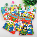 Free shipping!3pcs/lot boy panties cartoon minions Children's underwear kids boy underwear briefs panties for girls boy boxers