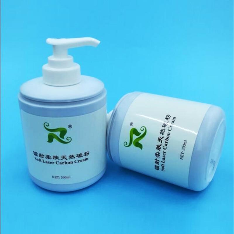 300ml Soft Laser Carbon Cream Gel For Nd Yag Laser Skin Rejuvenation Treatment Active Carbon Cream