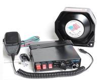 Police Siren CJB 7 Tone 200W Car Alarm Siren Horn Security Systems Car Electronic Siren Horn Police Megaphone Loudspeaker