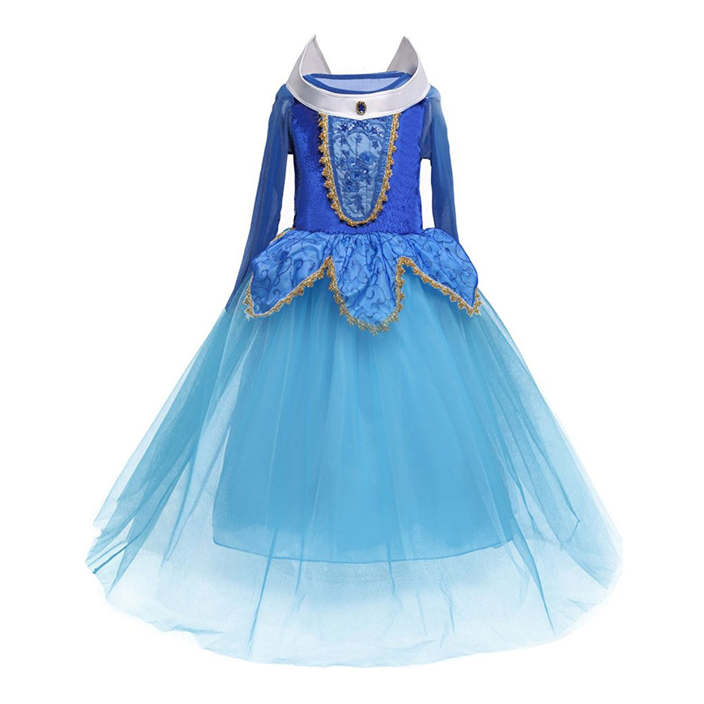New Teen Girls Children Dresses Role Play Prom Party Dress For Kids ...