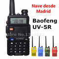 4 colors BaoFeng UV-5R Walkie Talkie Two Way Radios VHF/UHF Dual Band Amateur Handheld UV 5r Portable Radio In Madrid