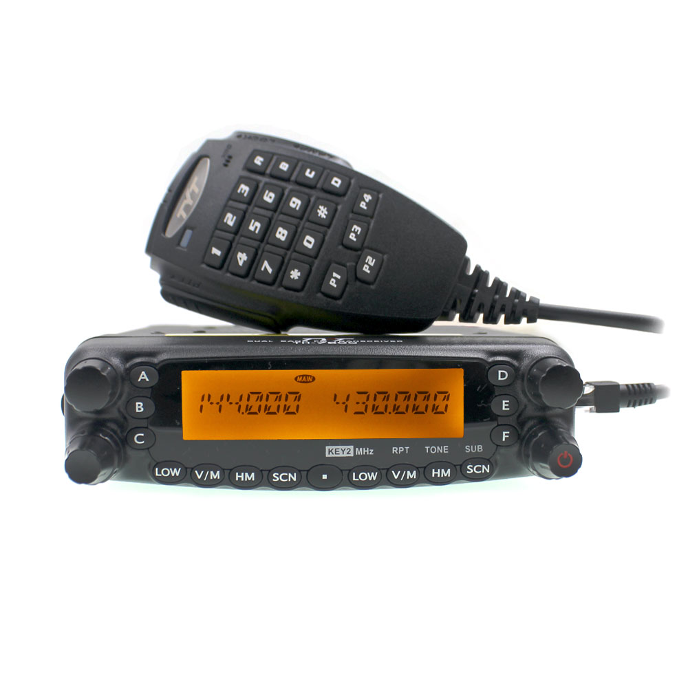 TYT Woki Toki TH-7800 50W Car Radio Dual Band136-174&400-480MHz Amateur Mobile Transceiver TH7800 FM Radio