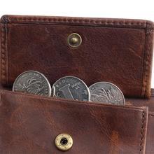 Vintage Genuine Cowhide Leather Wallet
