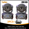 (2PCS) Flightcase Packing 60W LED Moving Head Light Moving Head Spot Light DMX 14Channels 3-Facet Prism Stage Lighting