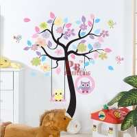 Large stickers creative DIY PVC posted strong cartoon children Home kindergarten universal