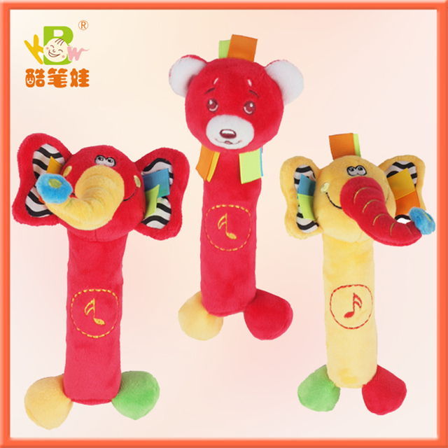 Animal baby toys0-12months toys for kids baby toys educational 3styles/Lot