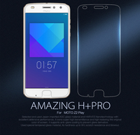For MOTO Z2 Play Screen Protector NILLKIN Amazing H PRO 2 5D Tempered Glass Protective Film