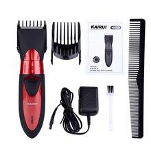 Profesjonalny elektryczny spinki do włosów Razor zmywalny akumulator fryzjer strzyżenie trymer mężczyźni dzieci dziecko ścinanie włosów maszyna 45