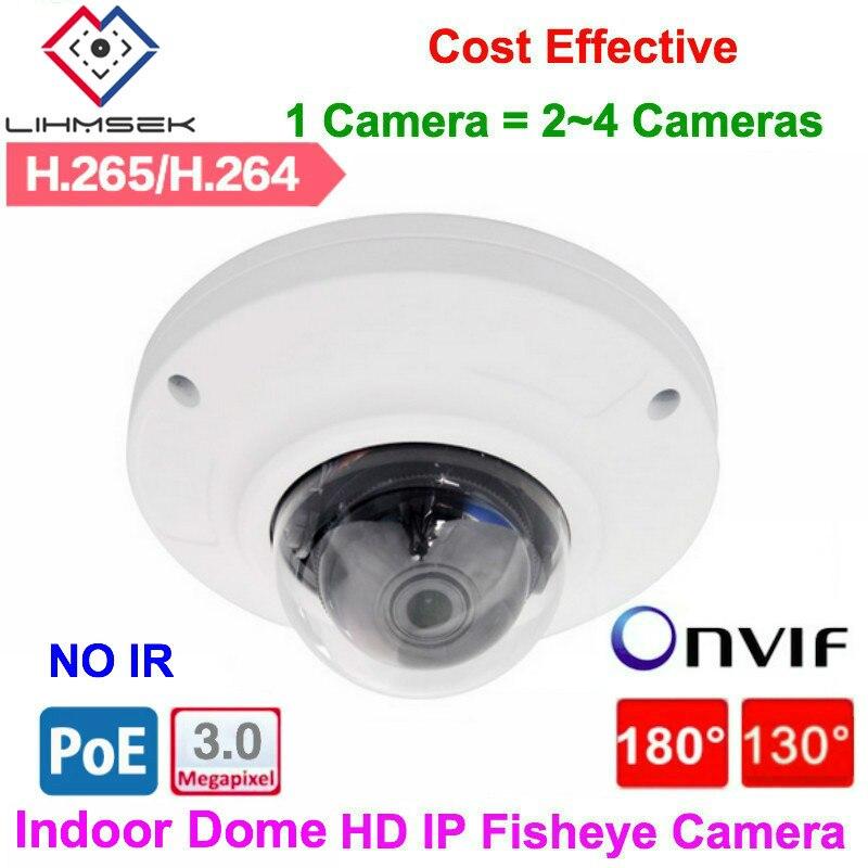 2mp Waterproof Fisheye Bullet Ip Camera Outdoor 12pcs Ir Leds Night Vision 48v Poe 180 Degree 360 Degree Network Camera Profit Small Video Surveillance Surveillance Cameras