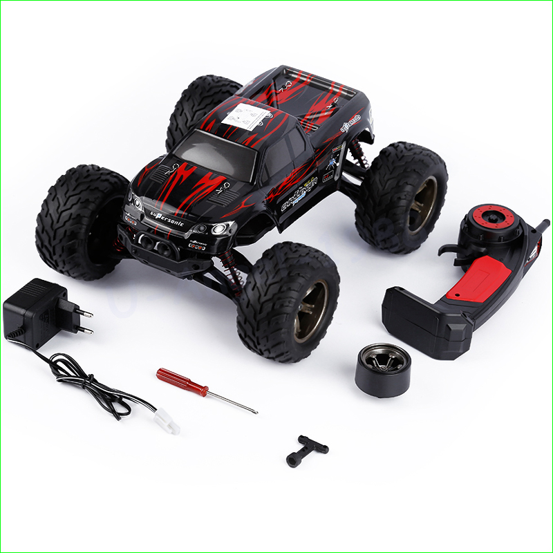 1pcs 45kmH+ Gptoys S911 2.4 Ghz 2WD RC Car Remote Control Truck Crawler Drift Carrinho Controle Remoto Bigfoot Speed Gasoline