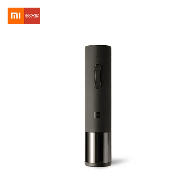 Xiaomi Mijia Huohou Automatic Red Wine Bottle Electric Corkscrew 6s Opener Foil Cutter Out Tool for Xiaomi Smart Home kits
