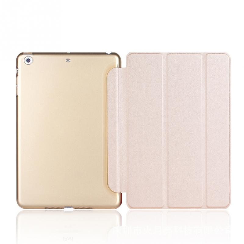 Case For Ipad Mini 1/2/3 Ultra Slim Fit Leather Case Smart Rubberized Back Magnet Cover For Ipad Mini 3