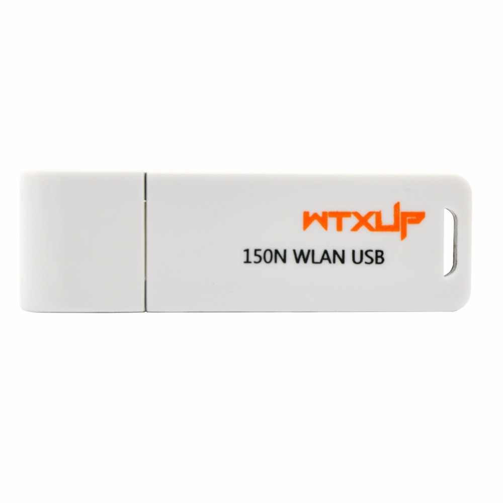 WTXUP RaLink RT3070 150Mbps Wireless LAN Mini USB WiFi Adapter Wi Fi Dongle  With WPS Button for Windows CE5 0/CE6 0/7/8/10 White