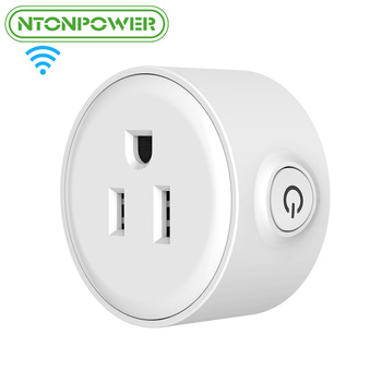 NTONPOWER WF Mini Smart Wifi Socket US Plug Remote Control Power Strip Timing Switch for Smart Home Automation Electronic System 1