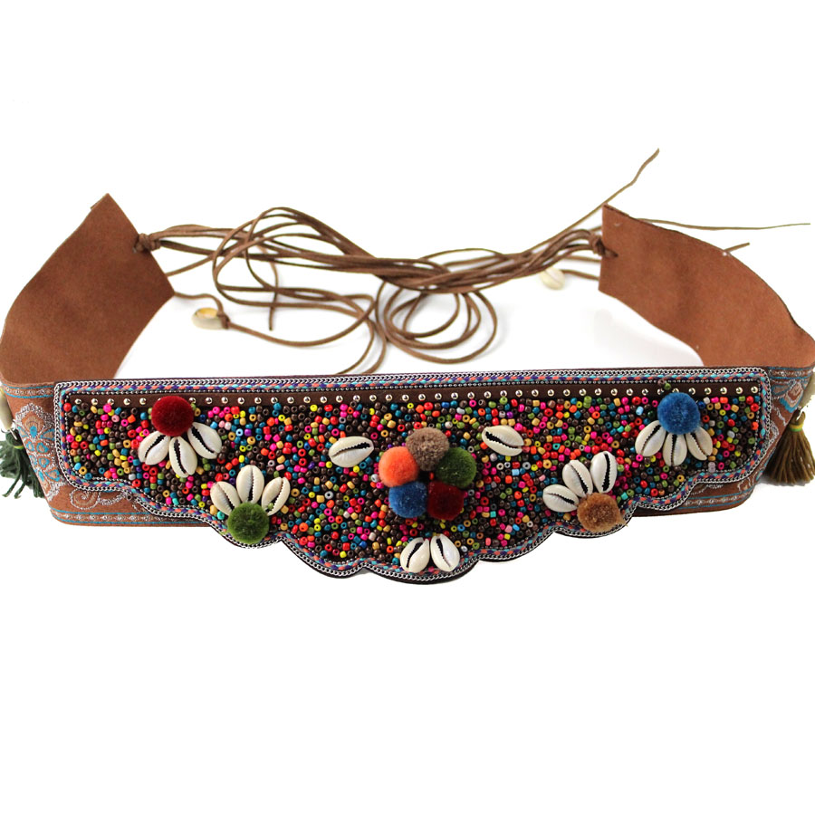 Sea Shell Boho Belt Fashion Belly Chain Belt Dance Bohemian Ethnic Body Chain Women Body Jewelry