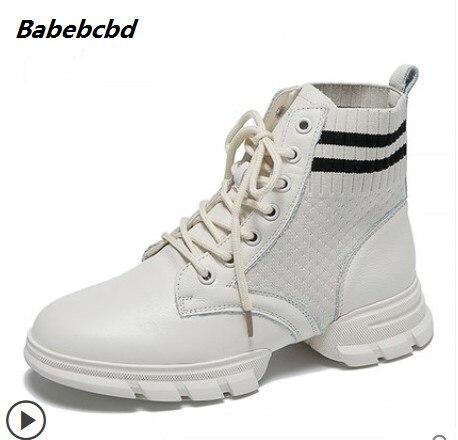 6fed0261 De Tipo Negro Zapatos Mujer Elástico Versión 2018 Harajuku blanco Uzzang  Nuevo Calcetines Alto hop Deportes Coreana ...