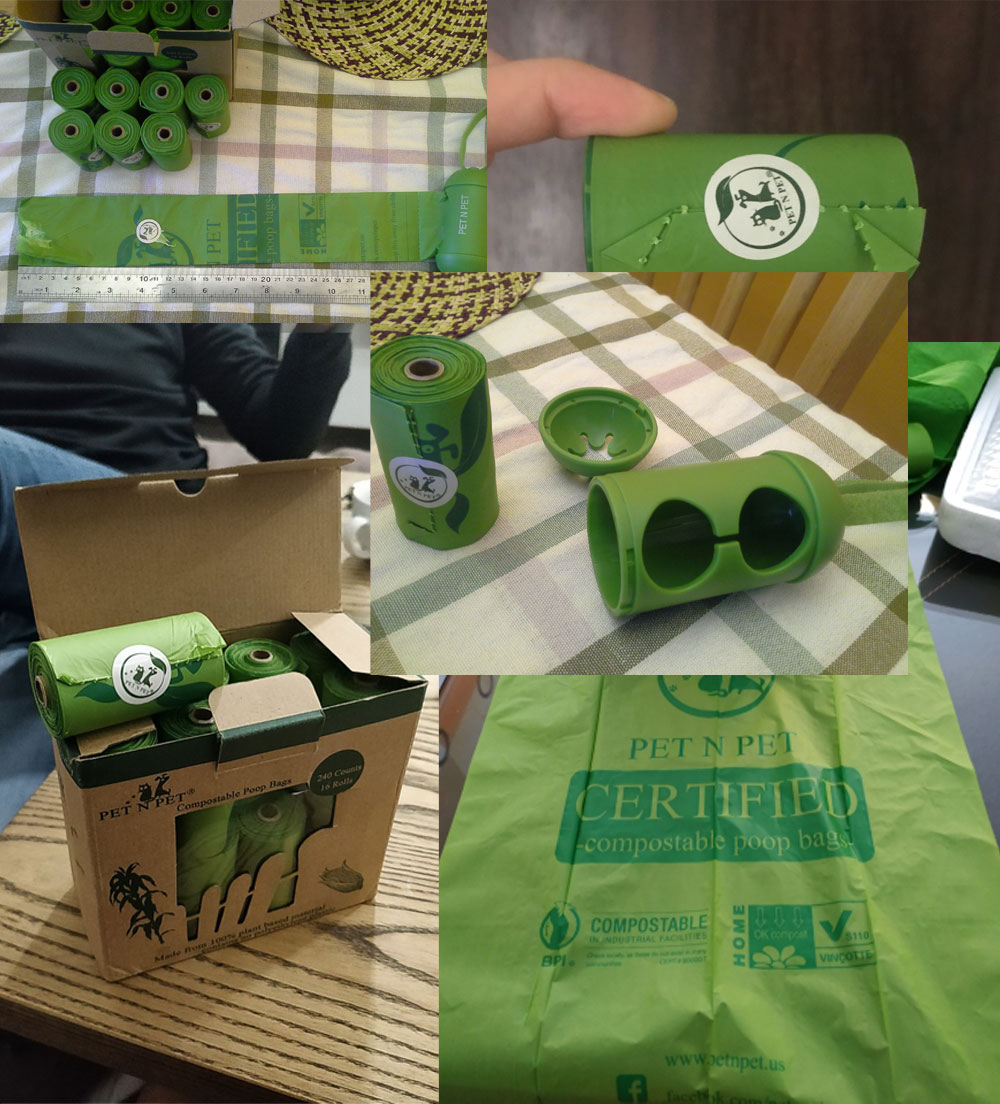 Earth Friendly Biodegradable Pet Poop Bags 60 » Pets Impress