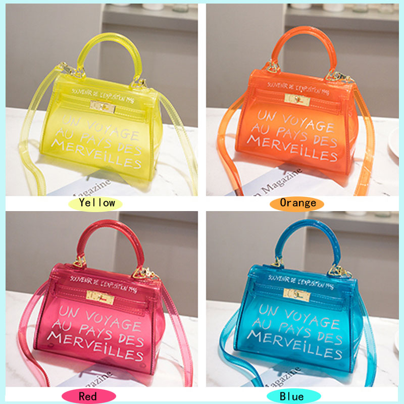 1b5a6c0346e7 XMESSUN Clear Transparent PVC Shoulder Bags Women Candy Color Women Jelly  Bag Purse Solid Color Handbags Large Crossbody Bag F23-in Shoulder Bags  from ...