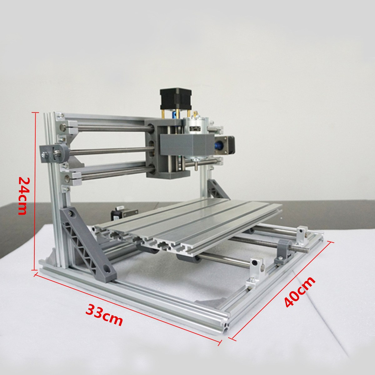 DIY 3018 CNC Router ER11 GRBL Control Diy CNC Machine,3 Axis PCB Milling Machine,Wood Router Laser Engraving daniu 3018 3 axis grbl control 500mw laser diy cnc router milling engraving machine working area 30x18x40cm
