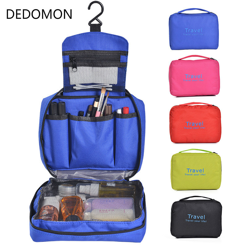 2018 Women Travel Bags Waterproof Big Portable Large Capacity Suspension Toiletry Bags Receive Package Wash Gargle Folding Bag universal aluminum alloy table flat bench vise drill press vise small vise for woodworking diy tool milling machine