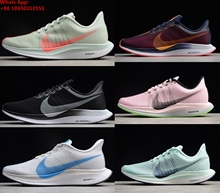 new product a2598 a8366 2018 Zoom Pegasus Turbo Barely Grey Hot Punch Running Shoes Men Women React  Zoom X Vaporfly