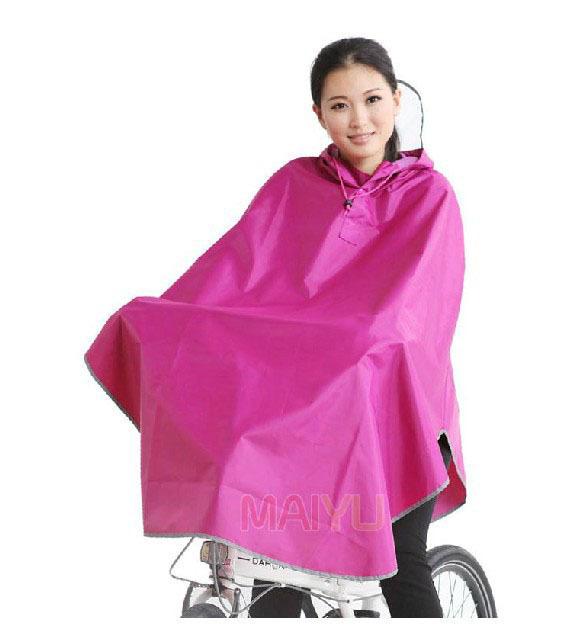 Universal Bicicleta desgaste da chuva moda passeio capa de chuva para homens mulheres grande chapéu de aba plus size poncho 7 cores C92303