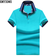 XMY3DWX New 2017 Summer Fashion Mens Polo Shirt Brands Slim Fit Casual Solid Polo Shirts Brand Clothing Short Sleeve Tops&Tees