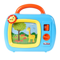 Baoli Wind Up Music TV Toys With Music and Moving Screen for Develop Intelligence Educational Toys for Christmas Gift