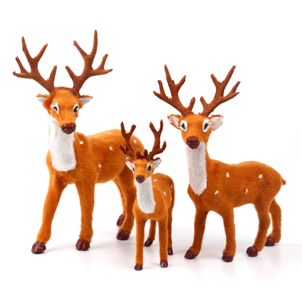 FENGRISE Christmas Decorations For Home Navidad 2018 New Year Santa Claus Christmas Banner Reindeer Elk Pendant Ornaments 2019