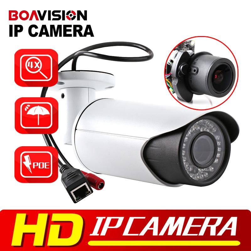 bilder für H.264 2MP HD 1080 P Ip-kamera Outdoor Netzwerkkamera POE Port 4X Zoom Auto Iris Motorisierte Objektiv IR 40 mt Überwachungskamera Kugel