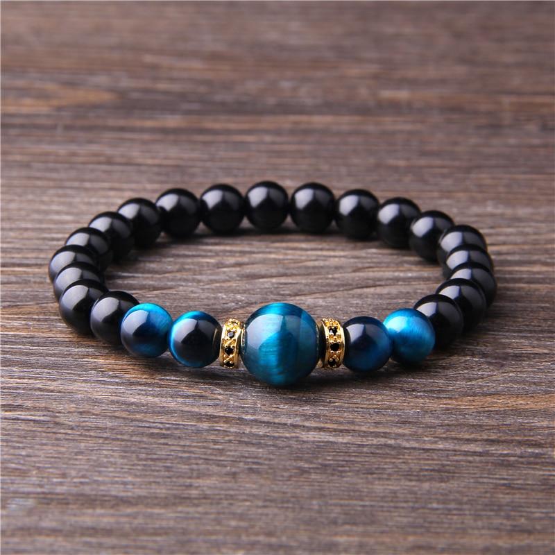 HTB1Zjl byfrK1RjSspbq6A4pFXa6 - Natura Stones Bracelet for Spiritual Healing (Few Colors Variations)