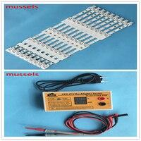 LED Backlight strips For 42 inch TV 420X20mm LED42K20JD LED42EC260JD SVH420A72 42K30JD LED42EC290N 9pcs and LED tester 1pcs