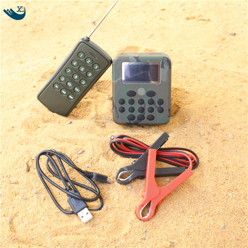 все цены на Xilei Desert Hunting  200 Bird Sounds Dc 12V 50W Lcd Display Mp3 Bird Caller Quail Hunting With Remote Control онлайн